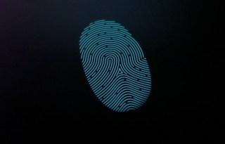 LG G3 finger print scanner