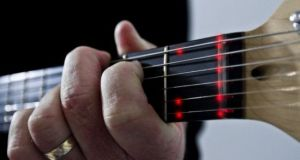 Fretlight LED learning guitar