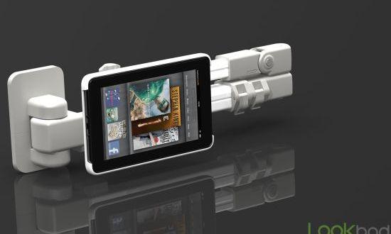Lookbad AirHolder iPad holder and mount