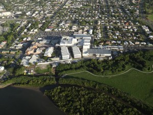 Mackay Base Hospital Aerial Photo