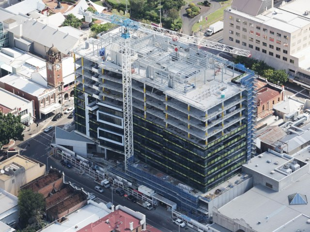 Aerial view of Icon Ipswich
