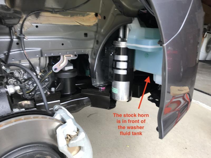 2018 LEAF Horn Upgrade DIY - My Nissan Leaf Forum