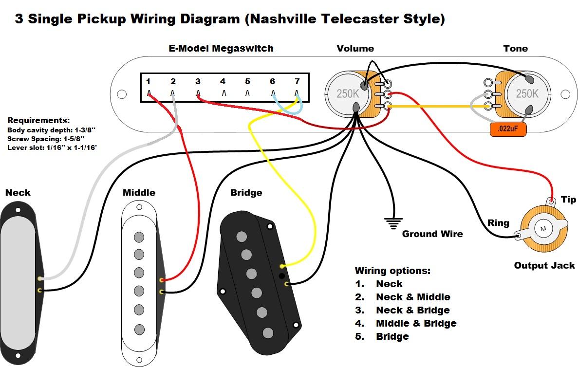 telecaster electric guitar wiring diagrams