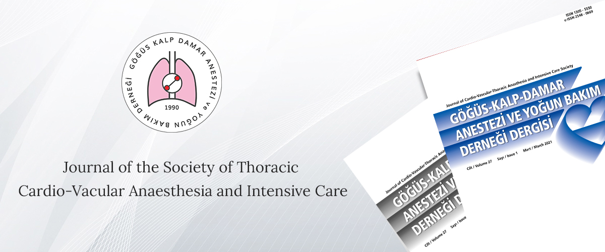 Journal of Cardio-Vascular-Thoracic Anaesthesia and Intensive Care