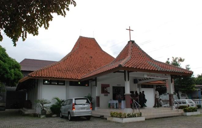 Gedung Gereja GKJ Wisma Kasih Mangunharjo