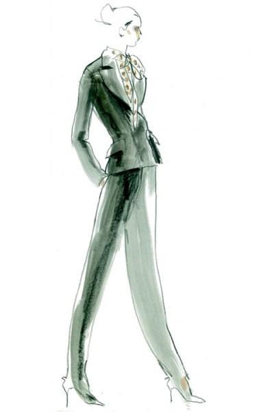 Hedi Slimane sketches for Saint Laurent pic2 copy-thumb-480x720-161490