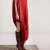 Giulia-Bevilacqua-7th-Rome-Film-Festival-Closing-Wearing-Maison-Martin-Margiela-X-HM-burgundy-clear-heel-boot-dress-4 thumbnail