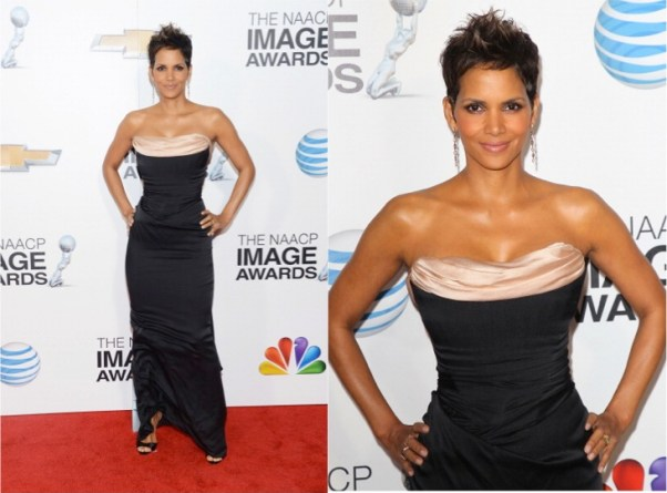 Halle Berry at 2013 NAACP Image awards