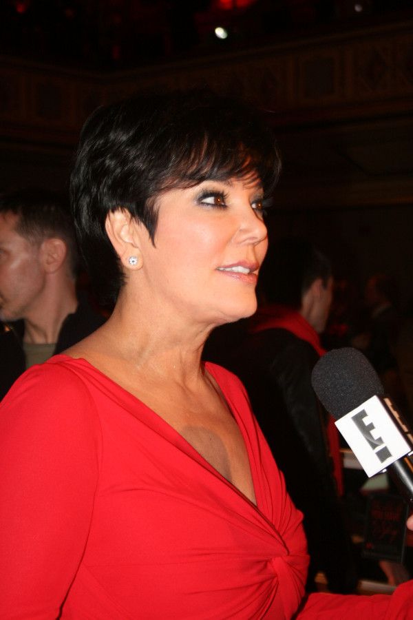 Kris Jenner at the Heart Truth Red Dress Collection Show
