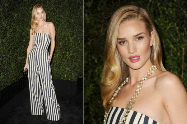 Rosie Huntington-whiteley - 2013 Chanel Pre-Oscar Dinner