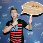 Singer Lance Bass stopped in the Sauza Tequila Gifting Suite in between preparations for his red carpet hosting duties with fellow singer, Jordin Sparks.
