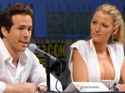 Ryan Reynolds and Blake Lively/ amog