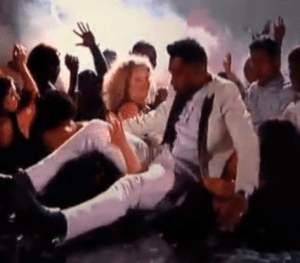 That Had to Hurt: Miguel Jumps Over Crowd and Lands on Fan's Neck at the Billboard Music Awards