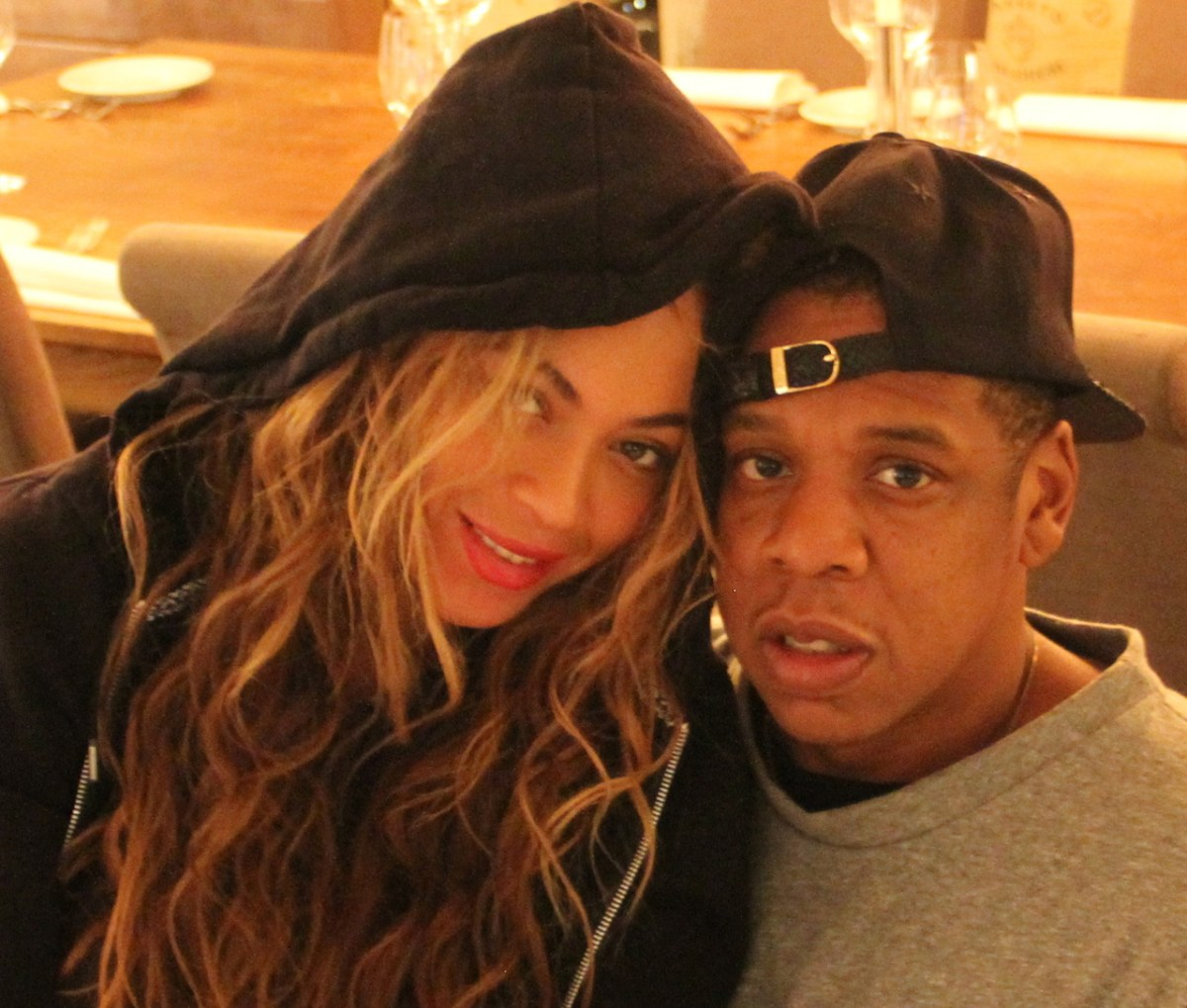 Beyoncé Takes A Selfie With Jay-Z and Dispels Pregnancy Rumors Once and For All