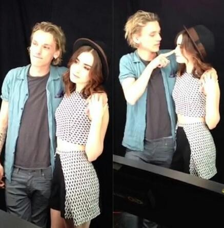 dunzo lily collins amp jamie campbell bower break up