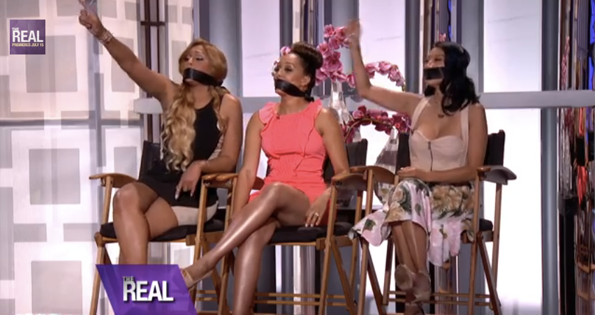 Tamar Braxton, Tamera Mowry-Housley & Jeannie Mai Husbands Impersonate Them on 'The Real'