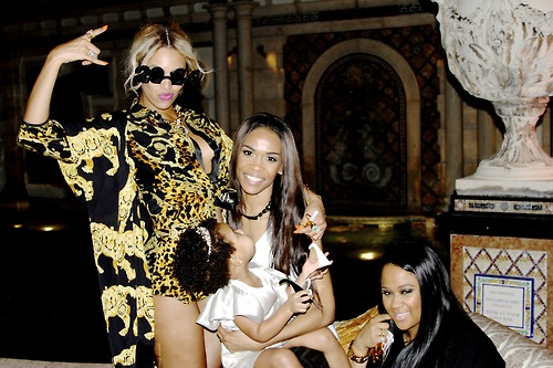 Beyoncé, Blue Ivy and Michelle Williams