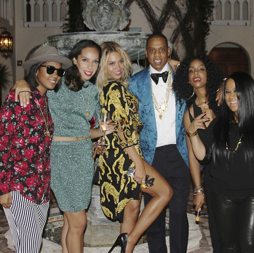 Beyoncé, Jay Z and Friends