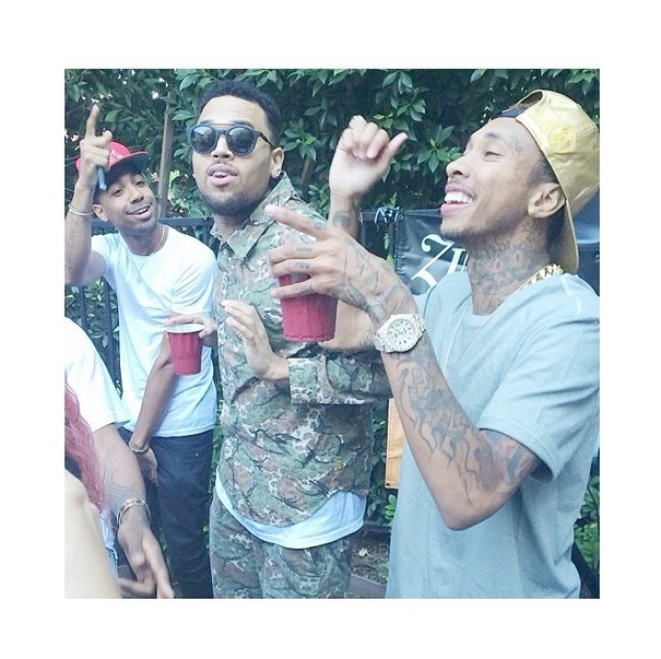"Chris Brown Has ""Welcome Home"" Party With Karrueche Tran ..."