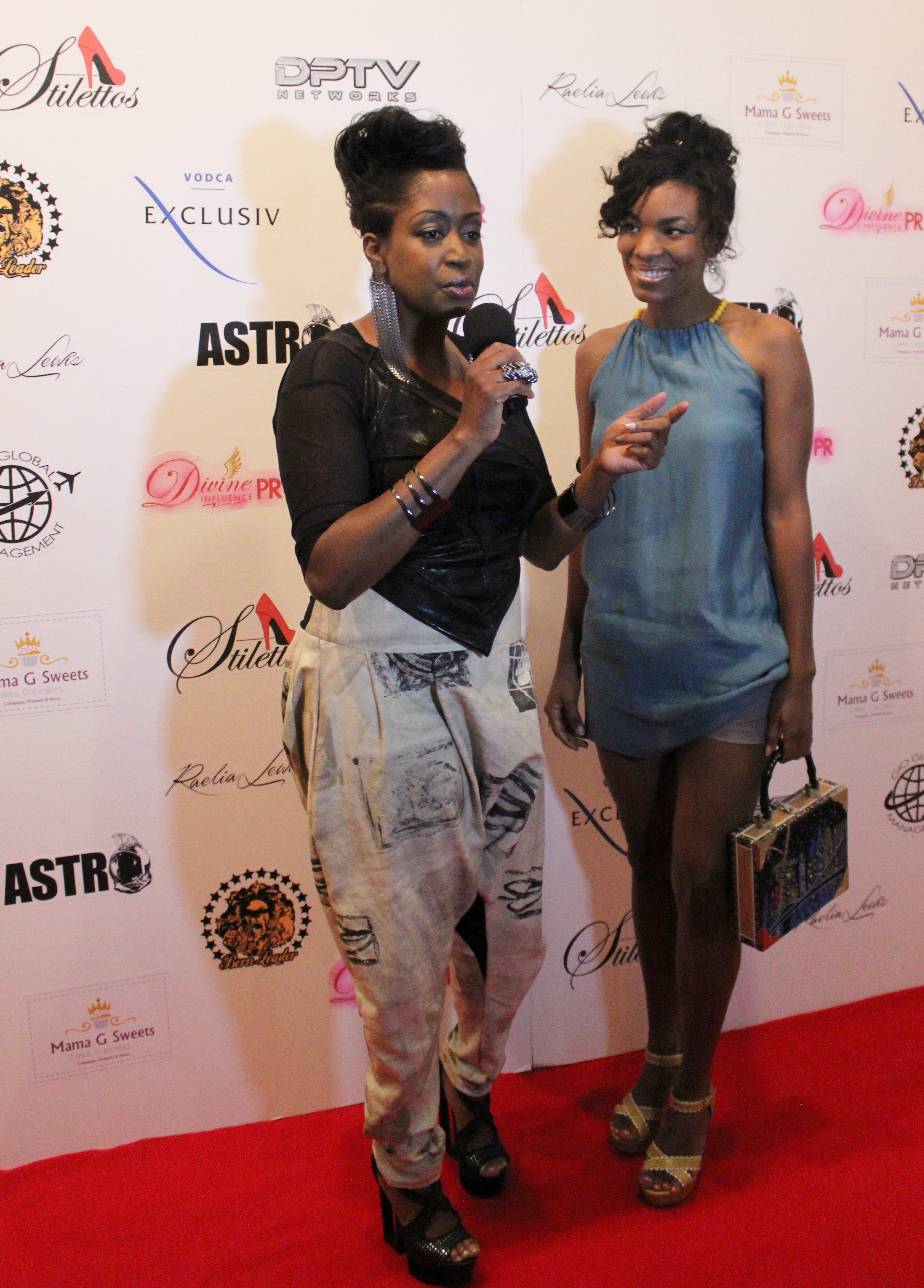 Interviewer and Kharisma Mcllwaine