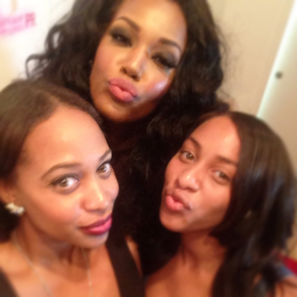 Amber Dover, Raelia Lewis and Friend