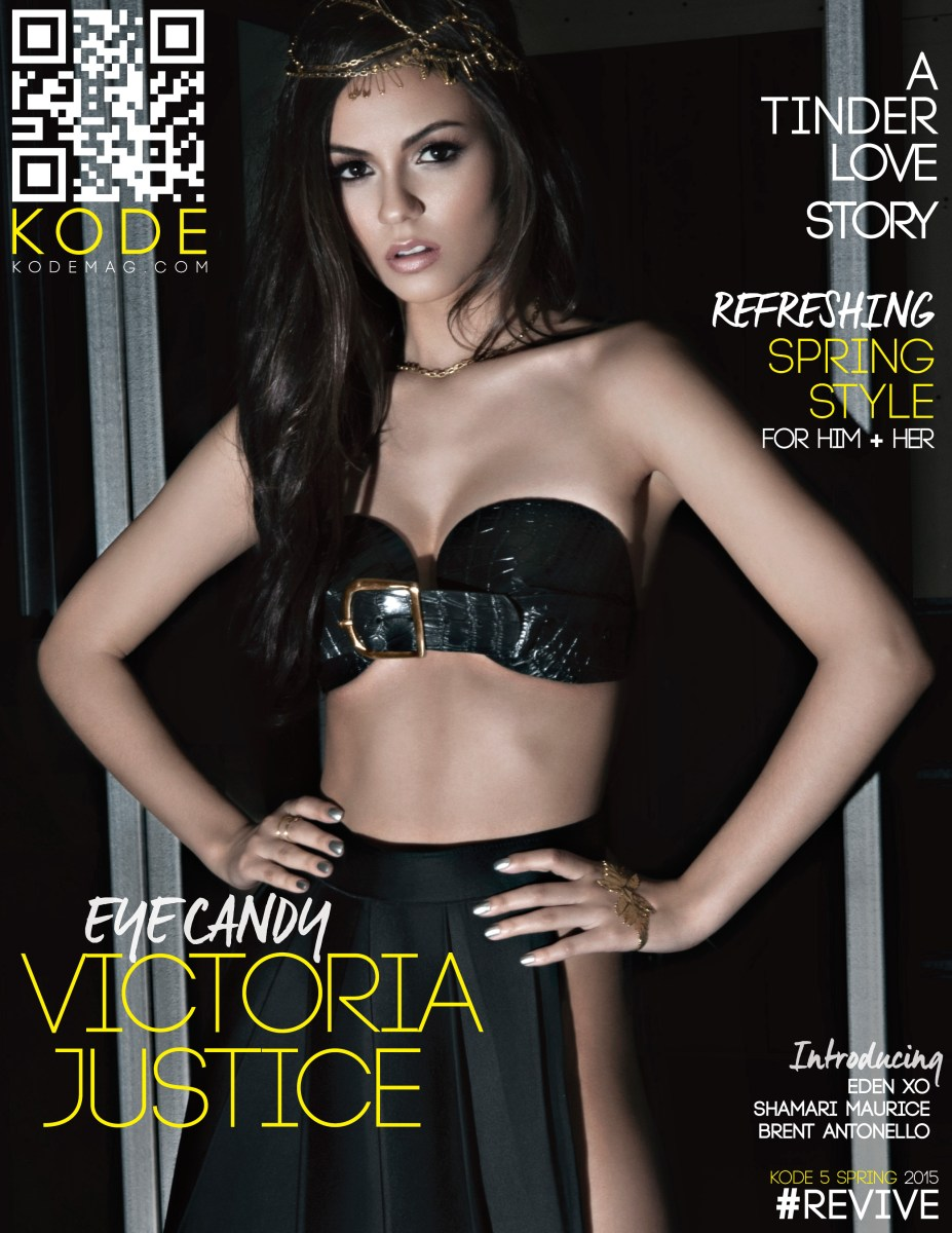 Victoria Justice Gets Super Sexy In Kode Magazine Spread + Talks Leaving Nickelodeon Days Behind