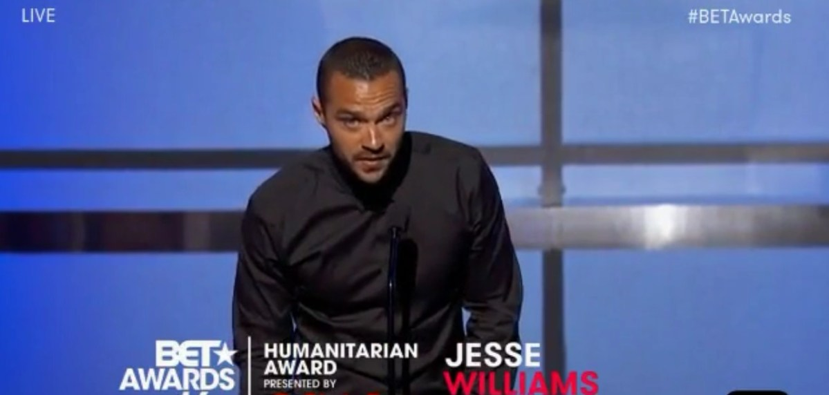 Jesse Williams Delivers BET Awards Acceptance Speech That Everyone Is Talking About