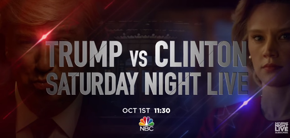 Trump and Clinton Set To Face Off On The Season 42 Premiere Of 'SNL'