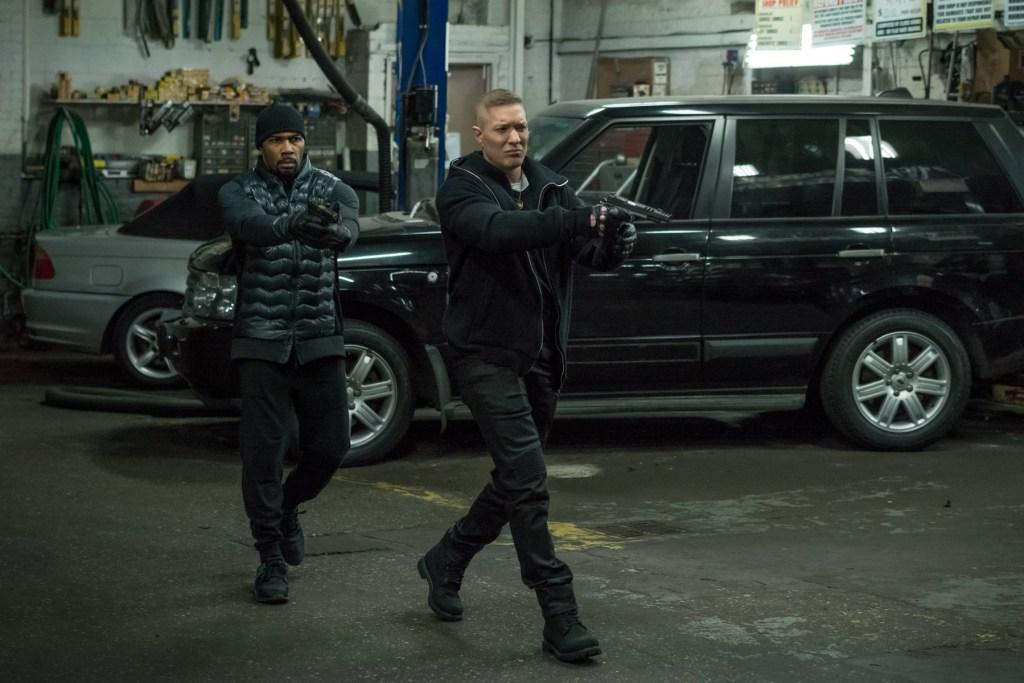 Omari Hardwick and Joseph Sikore in 'Power' season 4 finale/ Photo: Starz