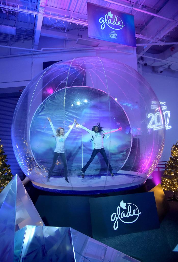Glade Snow Globe