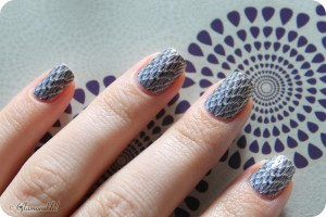 Mani Monday Omg Nail Strips Viper Review And Swatches