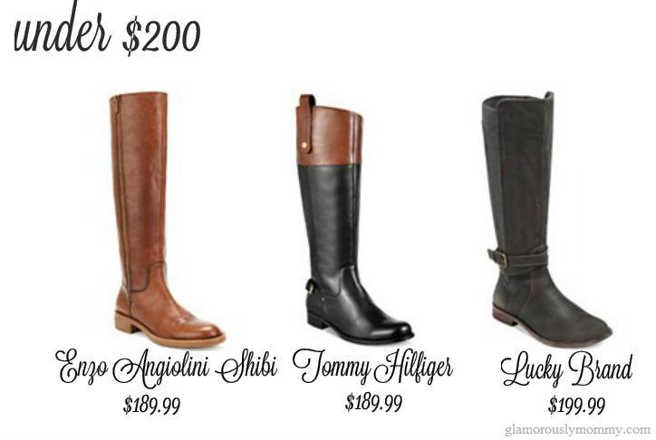 Wide Calf Boots Under $200