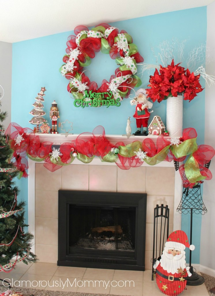 31 Days of Cheer: Our Christmas Mantle Decor