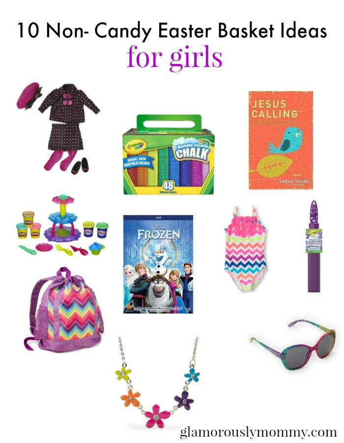 non candy Easter baskets for girls