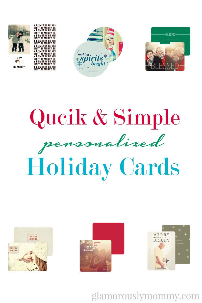 Quick Easy Holiday Cards