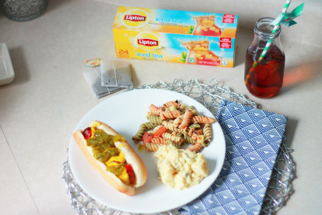 Make any Summertime Meal Complete with Lipton Iced Tea from Meijer!