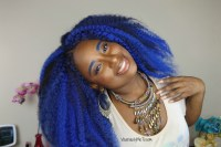 How To Do Crochet Braids Blue Ombre Hair  Vicariously Me ...