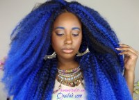 natural hair how to ombre blue crochet braids how to do ...