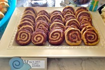 Glamourita Chocolate and Peanut Butter Snail Swirl Cookies