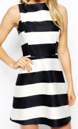 ASOS Striped Dress- glamourita.com