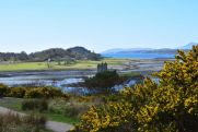 Castle Stalker from afar