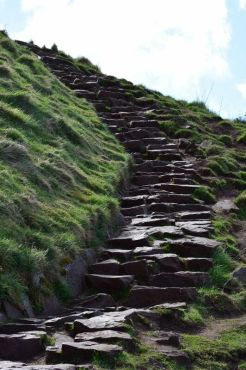 Steps to the Top of Arthur's Seat