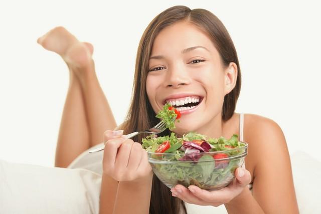 Reclining salad