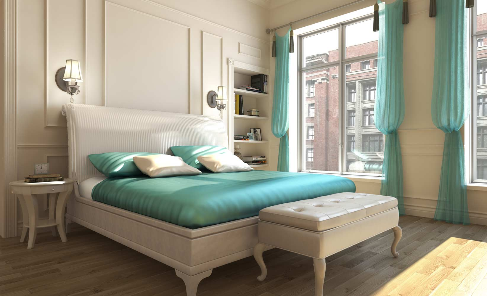 Make Your Small Bedroom Appearance Bigger Design Ideas