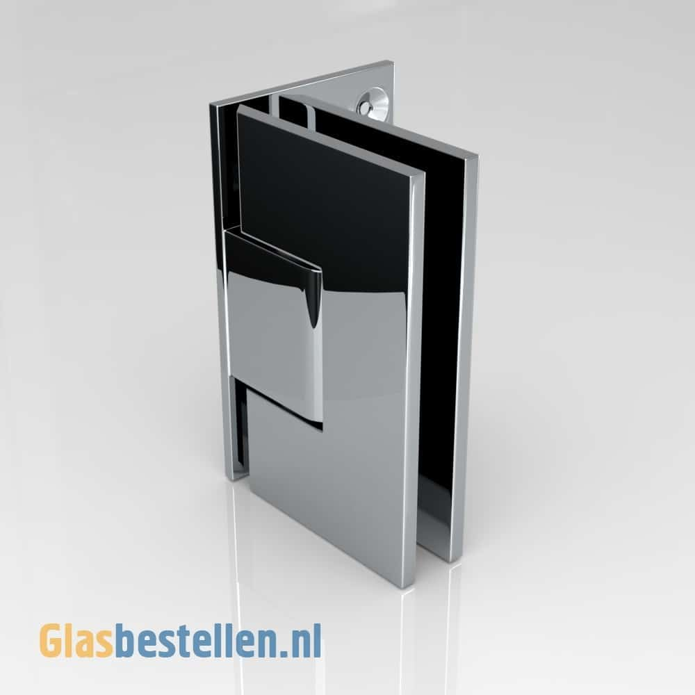Scharnier Douchedeur Shower Door - Glasbestellen.nl