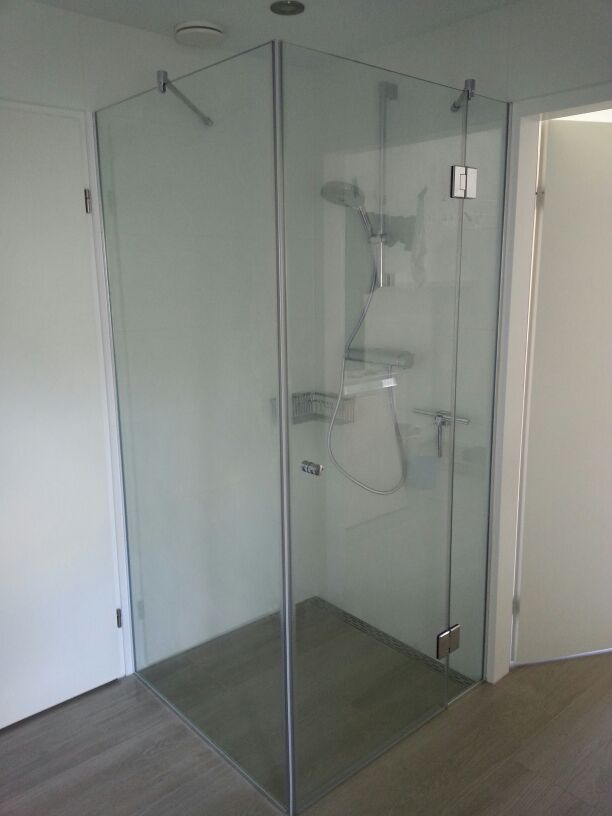 Badkamer Glas Coating Douchewand - Glasconcept