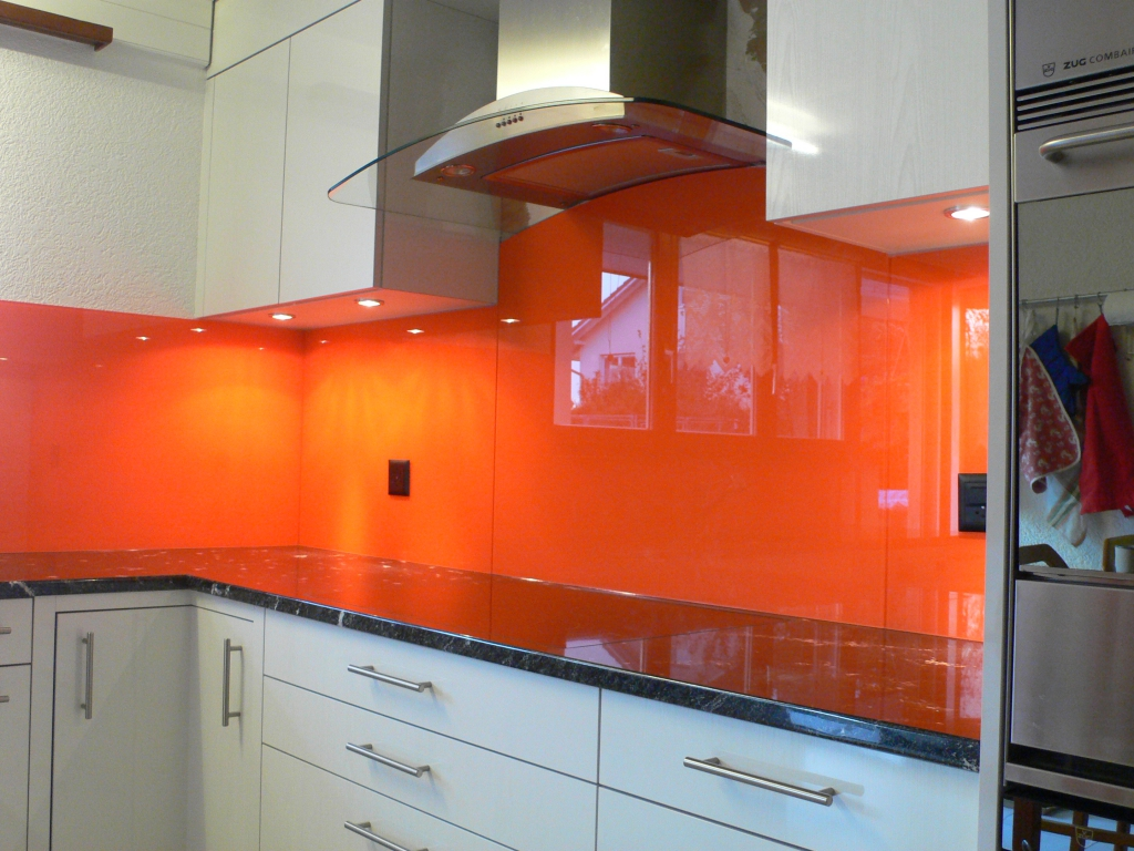 Ikea Küche Orange Glasrückwand Küche Orange Kollektion Artisto