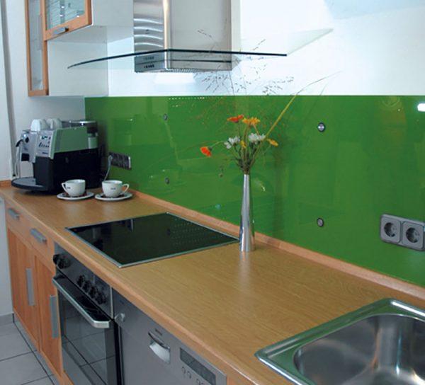 Spritzschutz Glas Küche Einfarbig