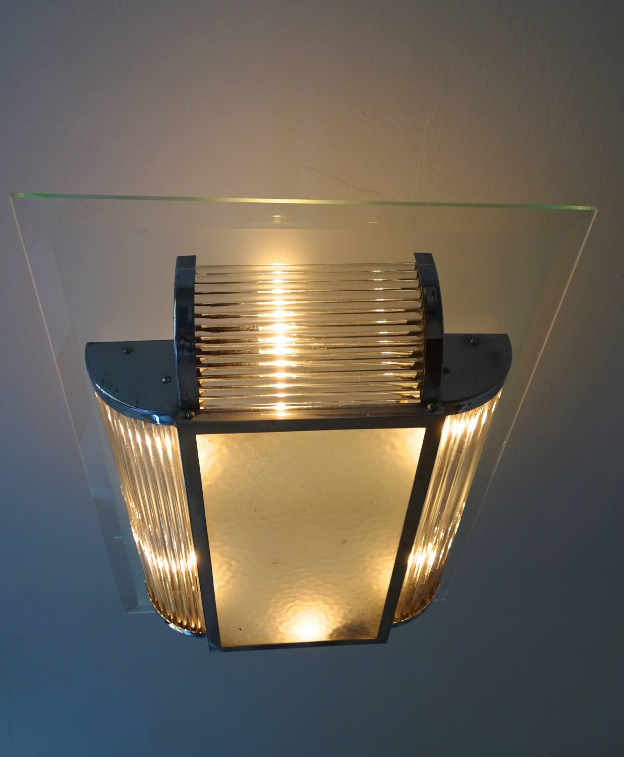 Art Deco Deckenleuchte Rene Pottier - Art Deco Ceiling Lamp | Art Nouveau & Art Deco Tandem Gallery
