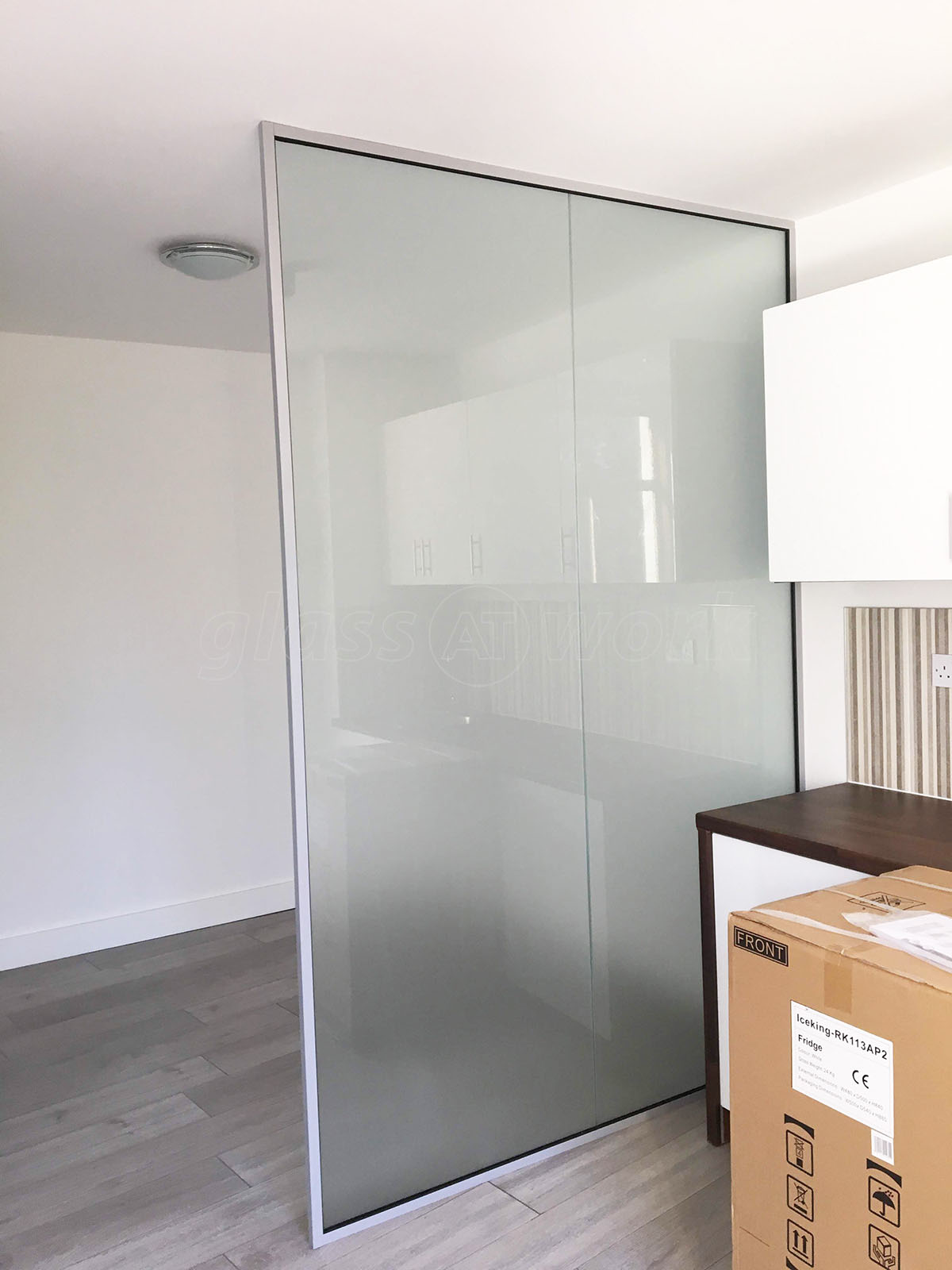 Open Glass Wall Glass Partitions At Decorean Ltd Lewisham London